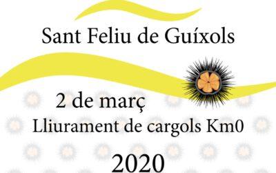 ENTREGA DE PLAQUES SLOW FOOD –KM0 2020, 2 de març a Sant Feliu de Guíxols